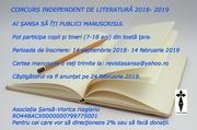 concurs literar 2018.2019
