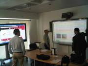 Preparando la presentación de ClickEdu para centros de Madrid en Group Vision!