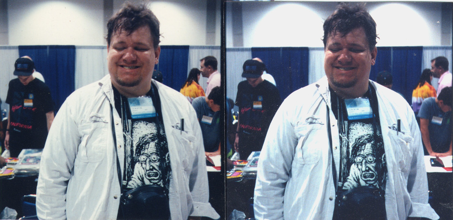Colin Upton, San Diego Comics convention, early 1990's