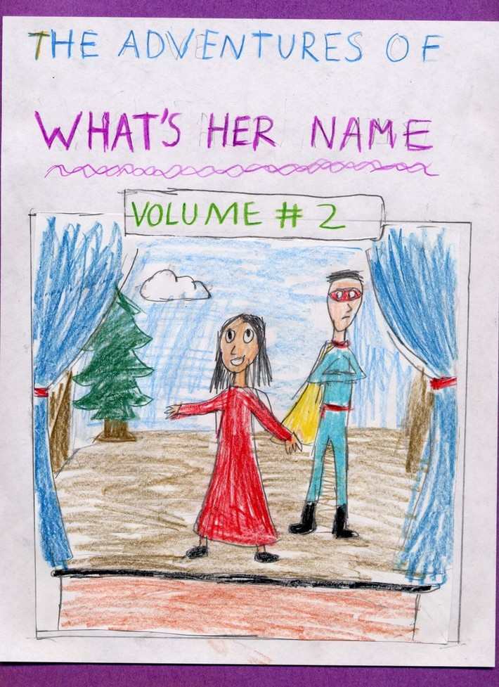 The Adventures Of What's Her Name Volume 2 cover