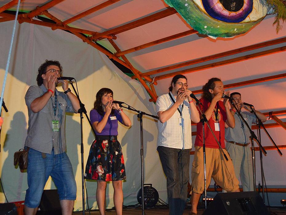 Mikuskovics: Jewsharping @ Ancient Trance Festival