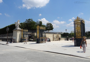 Entrance gates to the Tuilleries
