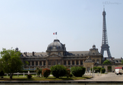 Back of the Ecole Militaire