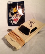 George Barris signed AMT Slot Car