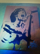 Brandon Boyd (Incubus) Signed Painting