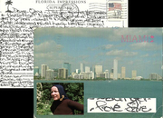 Little Edie Beale of Grey Gardens Signed PC 1987