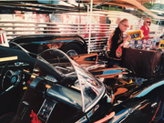 The Late George Barris with The Batmobile