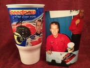 #32-30, NASCAR, Jeremy Mayfield, signing, Speedpass, Mobile 1 Racing, Plastic Cup