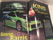 #25-44, Hollywood, George Barris, Signing, Celebrity Car, Magazine, Winter  2003, Page 94,