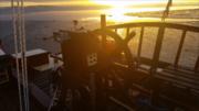 sunrise at Laingholm bay Manukau Harbour NZ