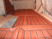 Plancher en Padouck (intérieur)