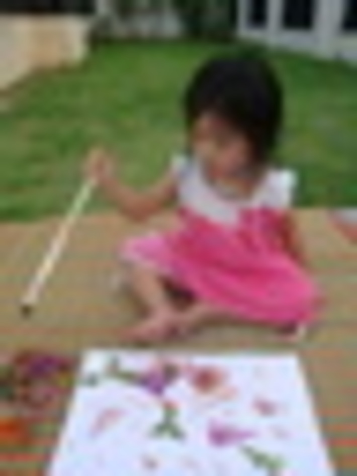 My little artist!