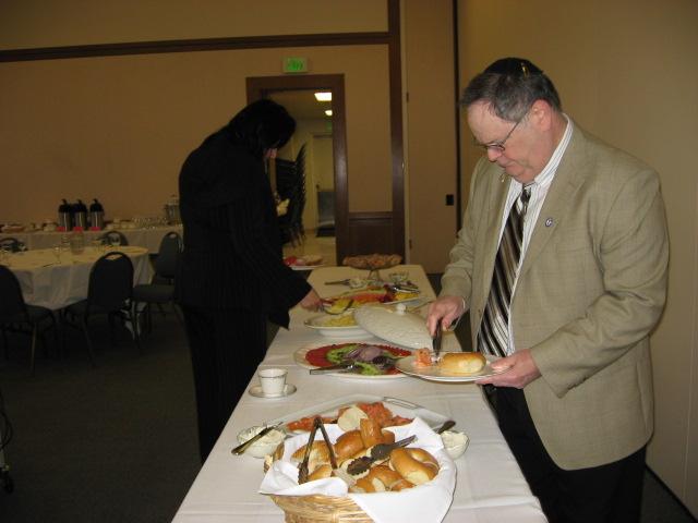 Charlie Shiffman at PASCA Buffet