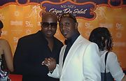 Daniel Azure with Sean Anthony at Neyo's Birthday Bash in ATL