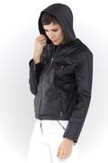 Lelia LH side zipped hood