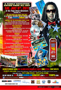 Sat. July 9th - 6 flags caribbean concert series