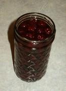 preserving raspberries