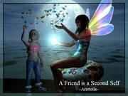 A FRIEND IS A SECOND SELF