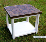 Growth Ring End Table