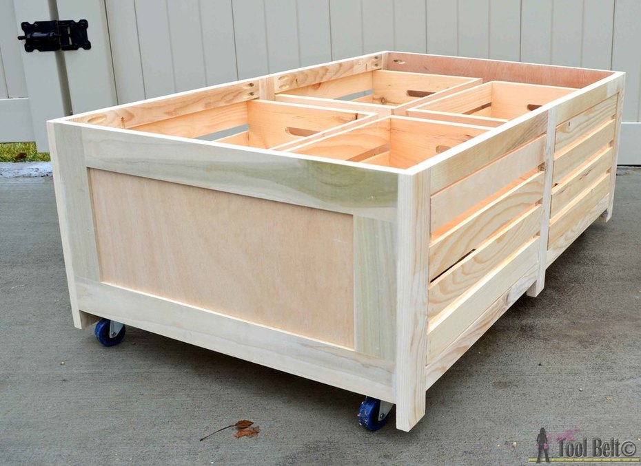 crate table dryfit crates