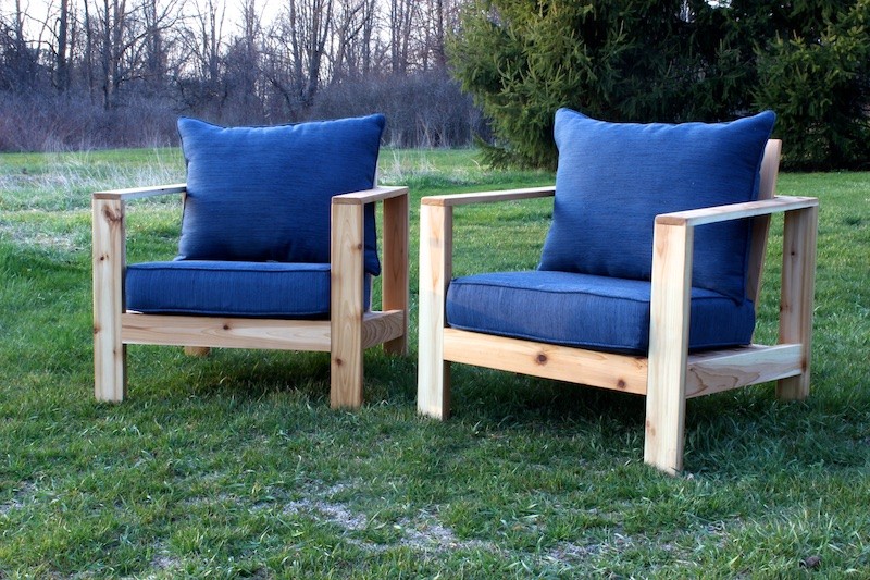 DIY Outdoor Lounge Chair Plans