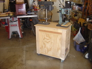 Drill Press / Hollow Chisel Mortiser Cart