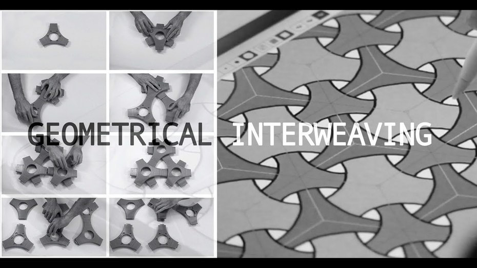 Making of Geometrical Interweaving