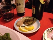 Juicy oysters