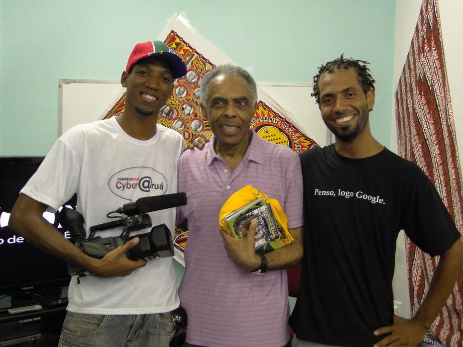 Gravação do documentário Connection South