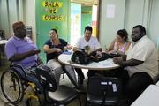 Reunião na regional de ensino do Gama