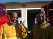 BLACK FIREFIGHTERS & PARAMEDIC