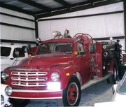 Antique Studebaker Fire Apparatus