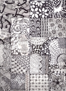 2013-02 Zentangle Sample1