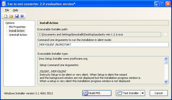 Creating MSI Installer Packages for Group Policy Deployment - SEMTEC