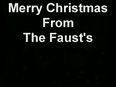 Merry Christmas From The Faust's