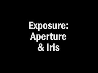 Aperture Exposure