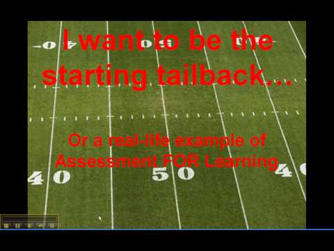 AFL Analogy - I Want to Be the Starting Tailback
