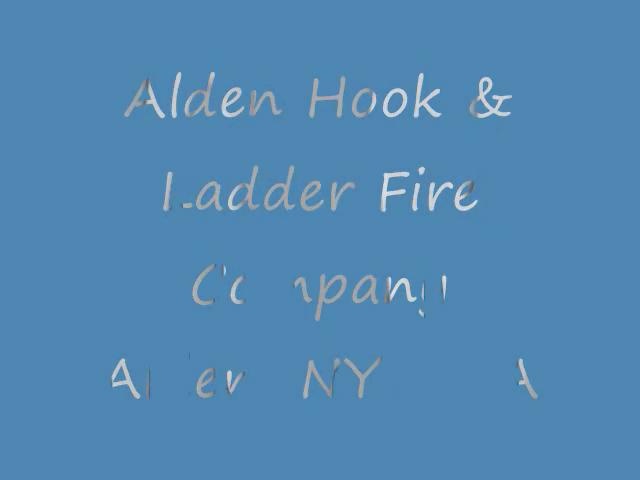 Alden Hook&Ladder