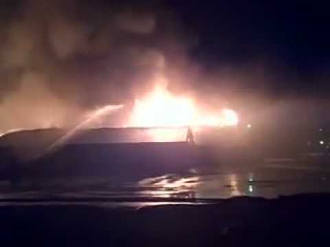 Fire destroys Little Nashville Opry, over 13 different departments, and on hott ball of fun...NOT!