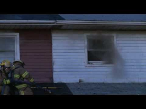 Multi-Alarm Townhouse Fire, Hanover, PA
