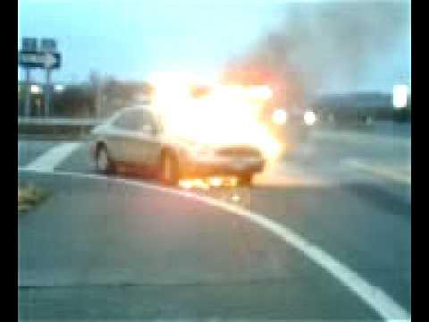 Car Fire - East Avon