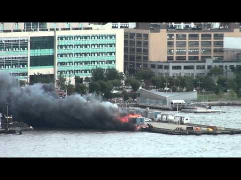 NYC Pier Fire