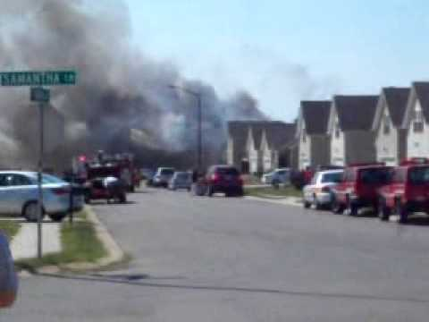 Multiple Homes Burn in Tennessee