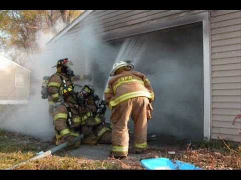Lake Station (IN) Garage Fire