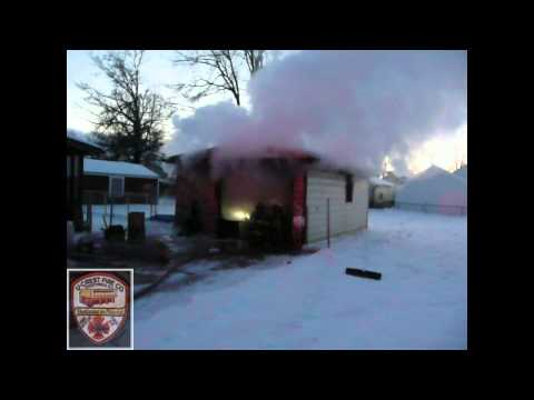 U-Crest FD Garage Fire - 18 Woodbine