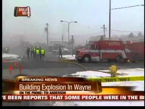 Explosion in Wayne, MI