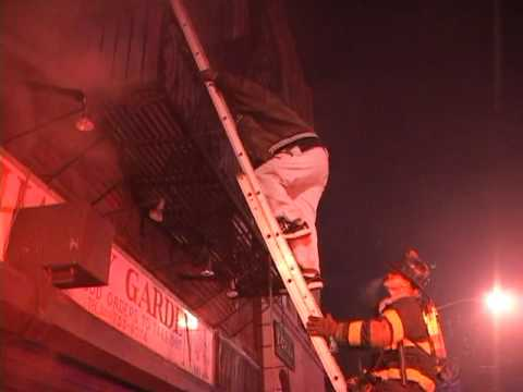 Newark 3-Alarm Fire with Rescues (Part 1 of 4)