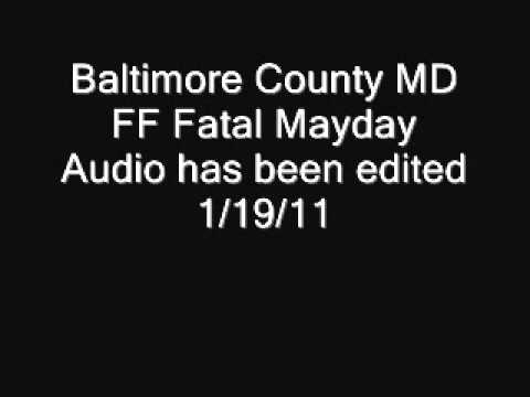 Baltimore County MD Firefighter Mayday
