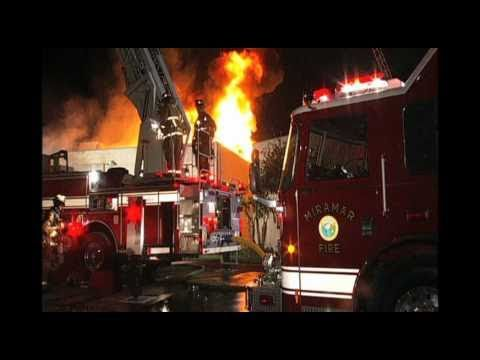 San Diego Two-Alarm Commercial Structure Fire