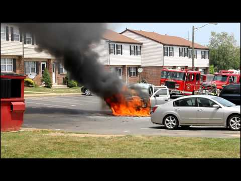 Freemansburg Vehicle Fire 7-20-11